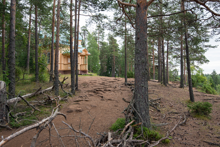 The roots of the trees lie almost on the surface of the soil, so it is thin. Valaam is a cozy and quiet piece of land, the rocky shores of which rise above the lush waters of lake Ladoga