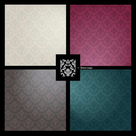 bordo: Pattern wallpaper background