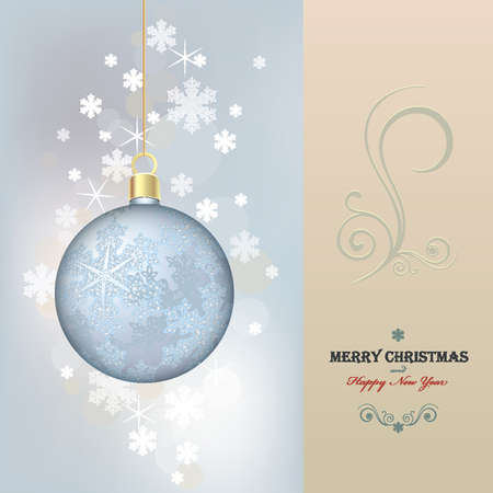 Merry Chistmas card Stock Vector - 11141994