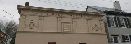 The old Strand Theater