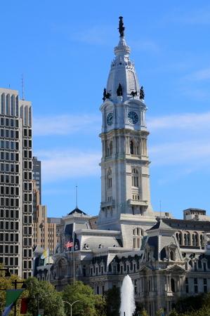 City Hall in Philadelphia.