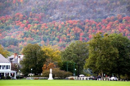 Autumn at West Point, NY.