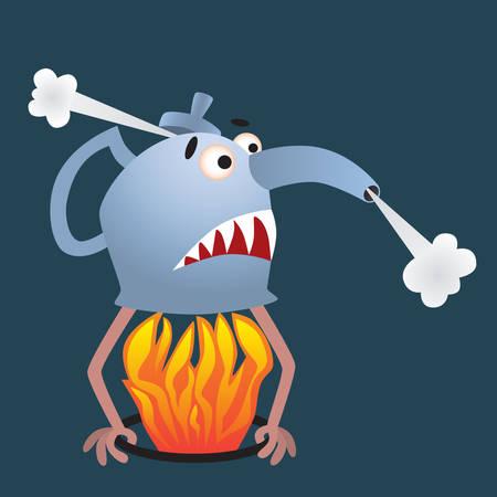 boiling: boiling kettle