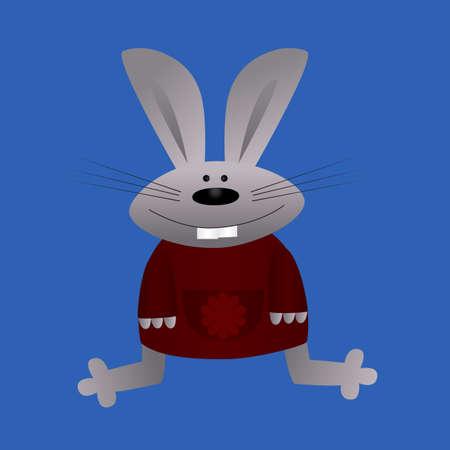 plush: plush hare