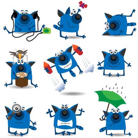funny cats: Funny cats set