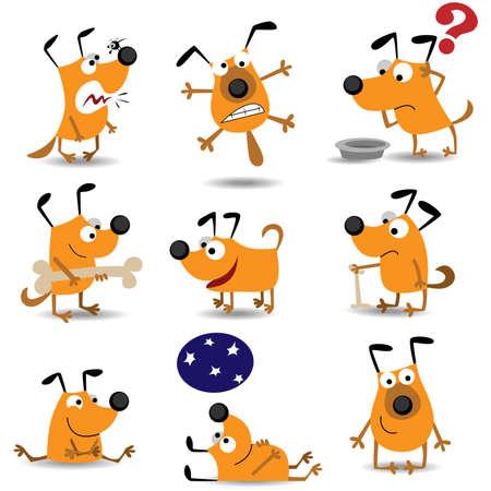 grappige honden: Grappige honden set