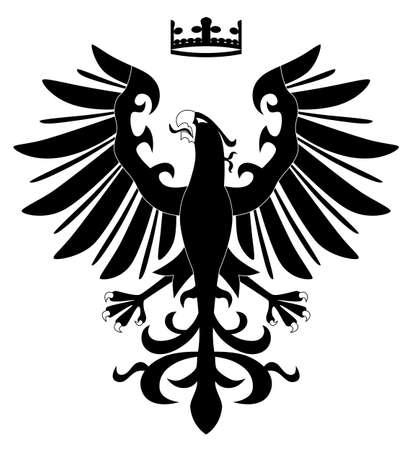 Heraldic eagle #4 Vector