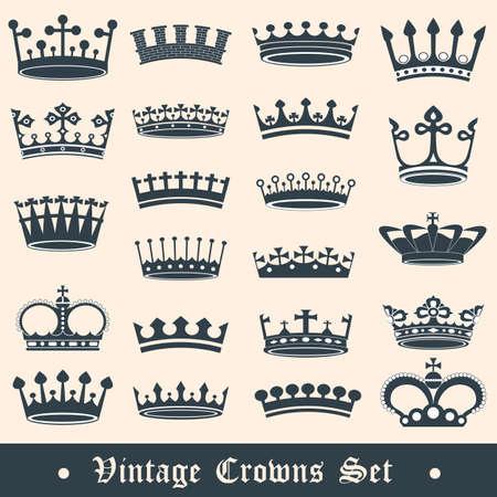Couronnes de cru mis en Banque d'images - 14217595