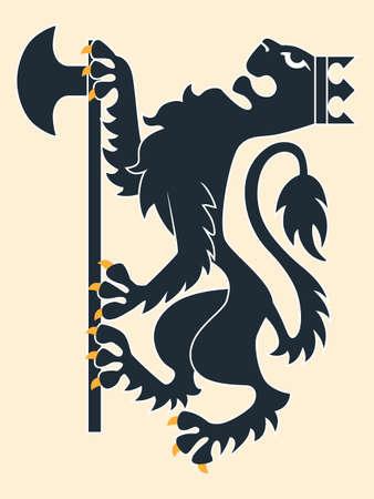 chivalry: Heraldic lion