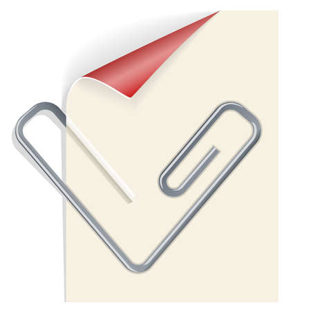 paperclip Stock Vector - 18531434