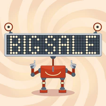 scorebord: Scorebord robot