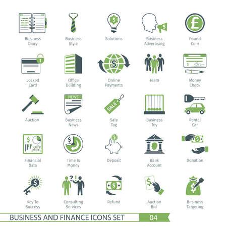 locked icon: Business and FIinance Icons Set 04