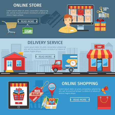 orden de compra: Colorful Online Shopping And Delivery Flat . Online Shopping Icons set. Online Shopping Icons Picture set. Online Shopping Icons Image set. Online Shopping Isolated Icons set. Online Shopping Flat Icons Set. Illustration