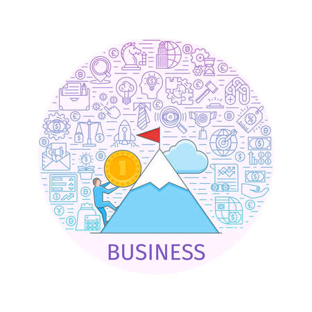 consult: Business concept banner