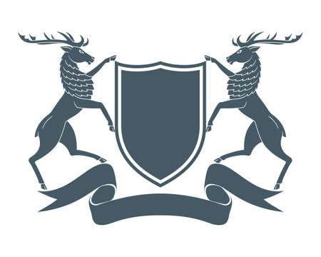 coat of arms deer