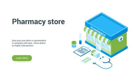 pharmacy store lp template
