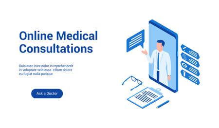 medizinische beratungen 3d vorlage 2