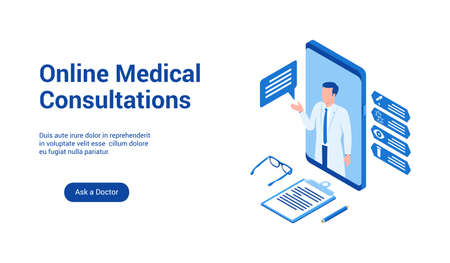 medical consultations 3d template 2