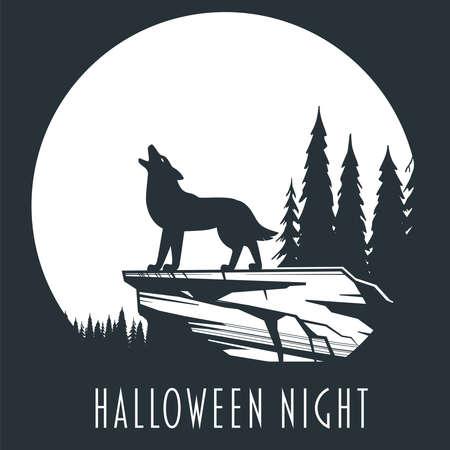 Halloween night concept 01