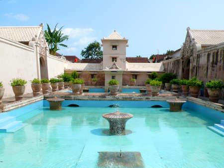 Taman Sari (Water Castle) in Yogyakarta, Indonesia