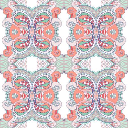 Abstract seamless pattern in modern style. Vector illustration. Illustration