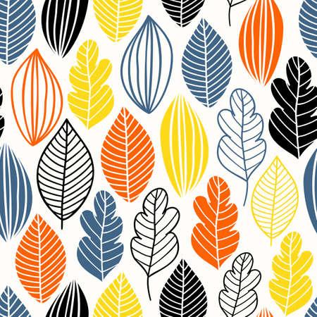 꽃과 나뭇잎 패턴입니다.