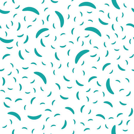 Trendy abstract seamless pattern on white backdrop. Modern design element. Simple flat vector illustration.