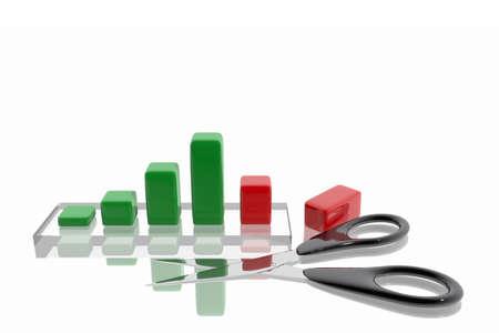 trimmings: Scissors cutting profits
