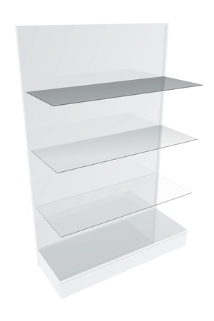Furniture shelves photo