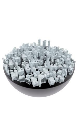 dominate: Artificial city