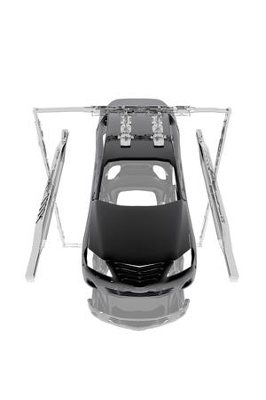 lopende band: Auto industriële assemblage lijn