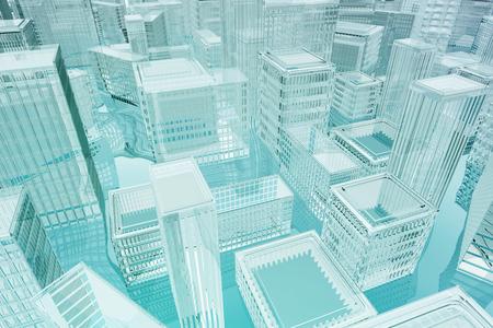 inundation: 3d concept for inundation