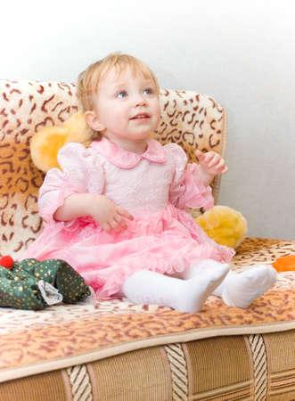 poppet: Girl Stock Photo