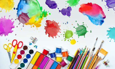 art materials: Materials for children