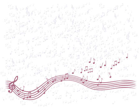 Background music  Stock Vector - 17730114