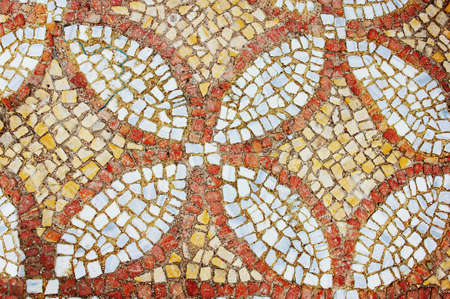 mosaic floor fragment Chersonese Stock Photo - 20581333
