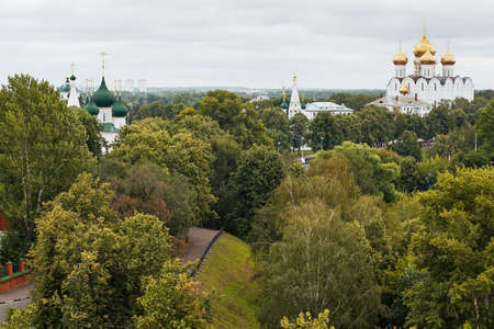 View over the roofs, Yaroslavl, Russia photo