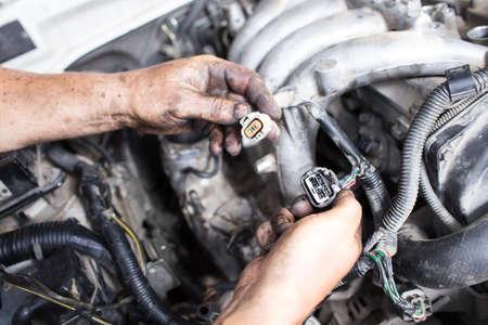 intake: repair car , master engine parses
