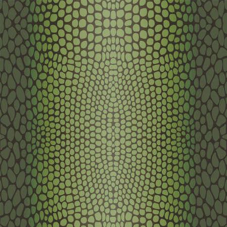 snakeskin: Snake skin, reptile seamless pattern Illustration