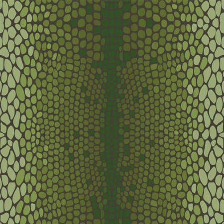 snake leather: Snake skin, reptile seamless pattern Illustration