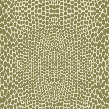 slither: Snake skin, reptile seamless pattern Illustration