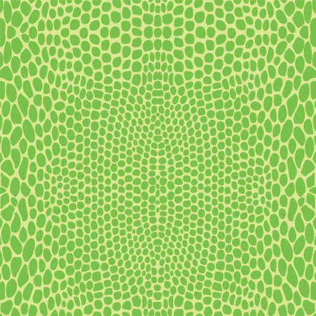 Snake skin, reptile seamless pattern Illustration