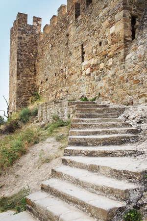 genoese: Genoese fortress in Crimea, Sudak