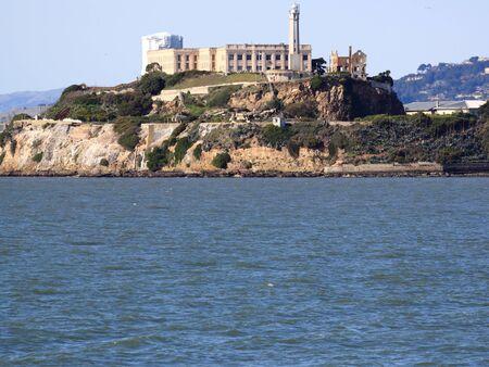 The Rock prison in San Francisco Фото со стока - 12754450