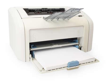 xerox: Modern digital printer isolated on white background