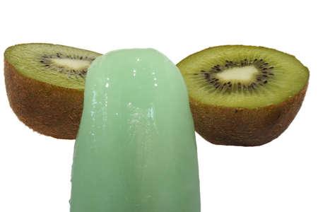 flavored: Ice-cream flavored  Stock Photo