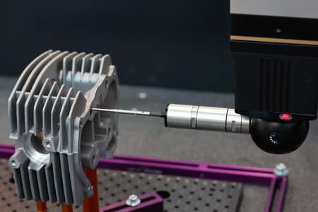 design objects: Inspection and quality control on a coordinate measuring machine.