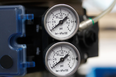 aneroid: Manometers indicates the pressure of the pipelines.