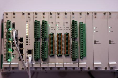Système modulaire d'automatisation et de contrôle industriel. Mise au point sélective.