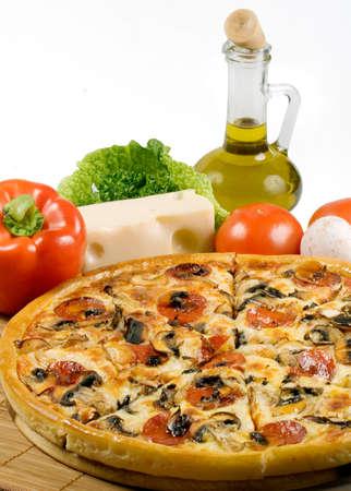 still-life about the Italian kitchen photo